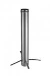 Труба 1000 мм с дистанционным хомутом-распоркой (Ø 100 мм)