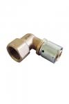 """Прессовый угольник-переход с внутренней резьбой (20 х 2,5 мм Rp3/4"""")"""