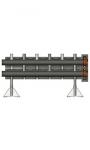 Распределительная гребенка на 3 контура, Victaulic (PN10, 1150 кВт)