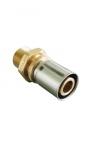 """Прессовое соединение с наружной резьбой (20 х 2,5 мм х R1/2"""")"""